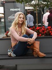 Bella Rose in Fall Flashion
