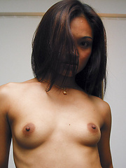 Young thai slut shoes her tiny boobs