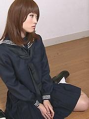 Cum-hungry japanese girl