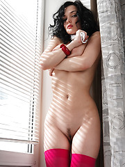 Big sumptuous breasts and creamy sweet skin will make you hungry for Jenya.