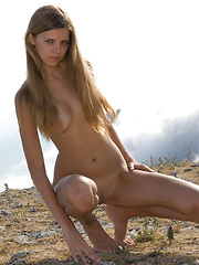 Amateur girl who is young and fresh and does not know anything about modeling except being nude.