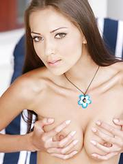 Anna AJ's exquisite features and body curves always demands full erotic attention.