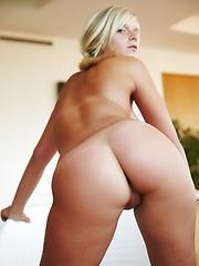 Czech blonde with sexy body