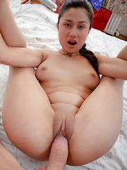 Pretty Silvia sucks and fucks like a tiger in this hot series