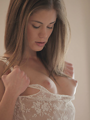 Watch beautiful Czech superstar and X-Art exclusive model Caprice strip, dance and make herself cum