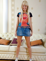 Playful blonde teen chick loves deep anal pounding and the warmth of a massive steaming facial load
