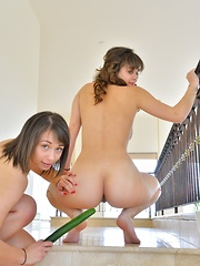 Athena and Mindy Cucumber